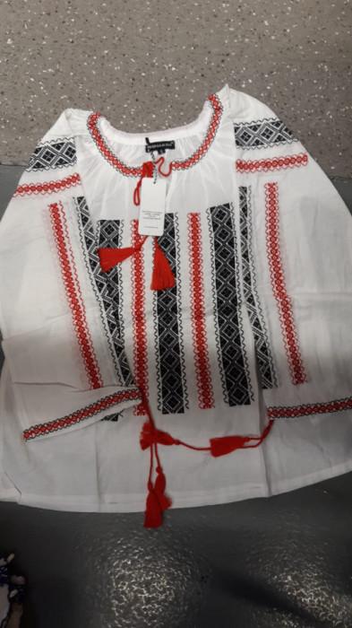 Bluza traditionala cu broderie, de dama, engros