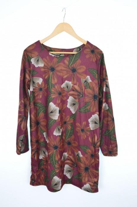Rochie cu imprimeu floral elegant, engros