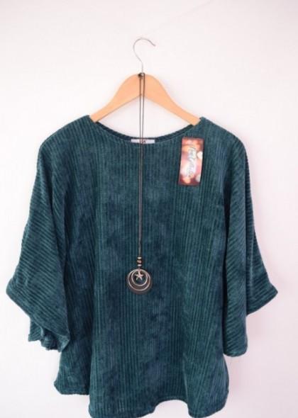 Bluza pulover de dama, din catifea, engros