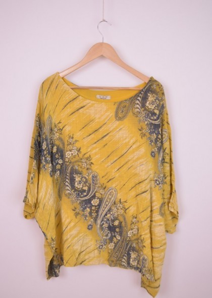 Bluza de dama, dublata, bumbac, cu desen uni, engros