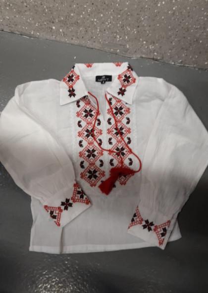 Bluza traditionala cu broderie, de baieti, engros
