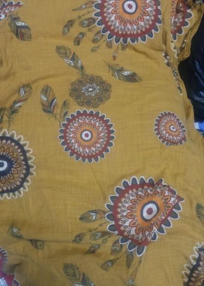 Rochie cu imprimeu colorat, engros