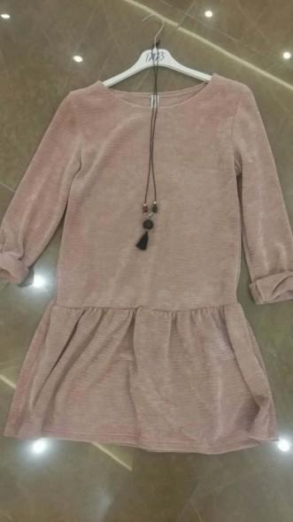 Rochie/tunica retro din catifea, engros