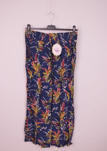 Pantaloni de dama, cu imprimeu floral, engros