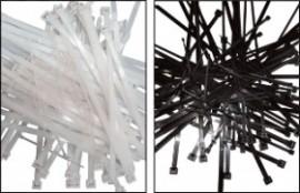 Colier nylon alb 102 x 2,5/pac. 100 buc.