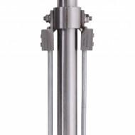Adaptor inox cu doua coborari, Φ33.7mm