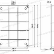 CUTIE PLASTIC ABS 300X220X120 IP56