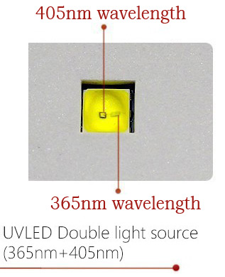 Lampa UV double LED light