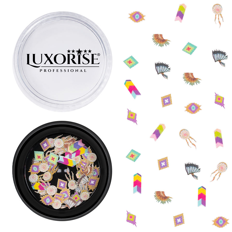 Decoratiune Unghii Nail Art Delights #38, LUXORISE imagine 2021 kitunghii