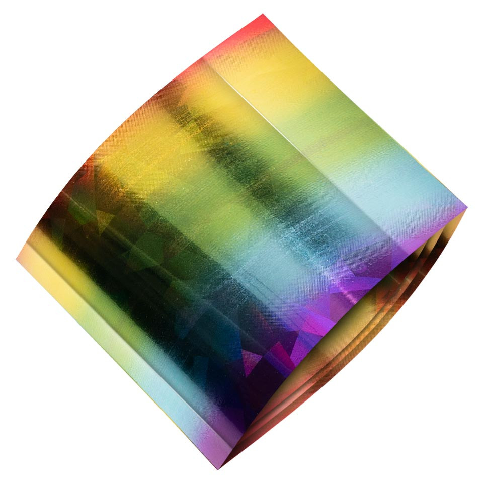 Folie de Transfer Unghii LUXORISE #485 Rainbow kitunghii.ro