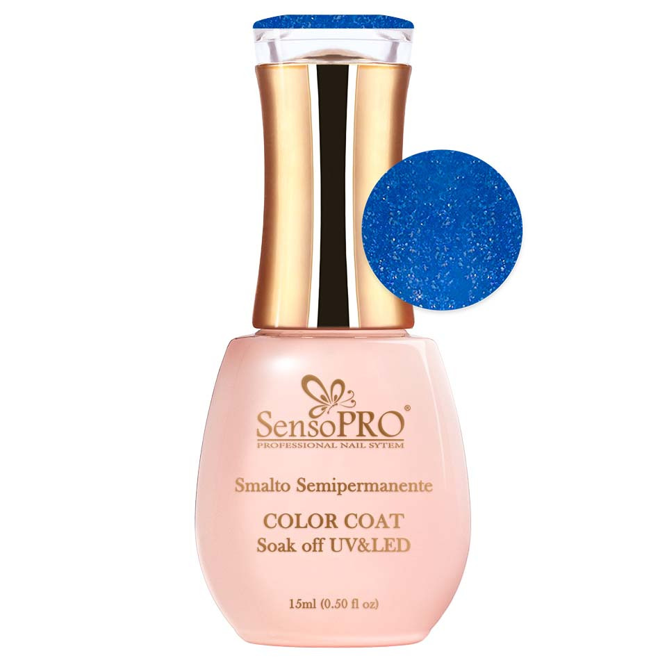 Oja Semipermanenta SensoPRO 15ml - #019 Ocean Blue poza noua