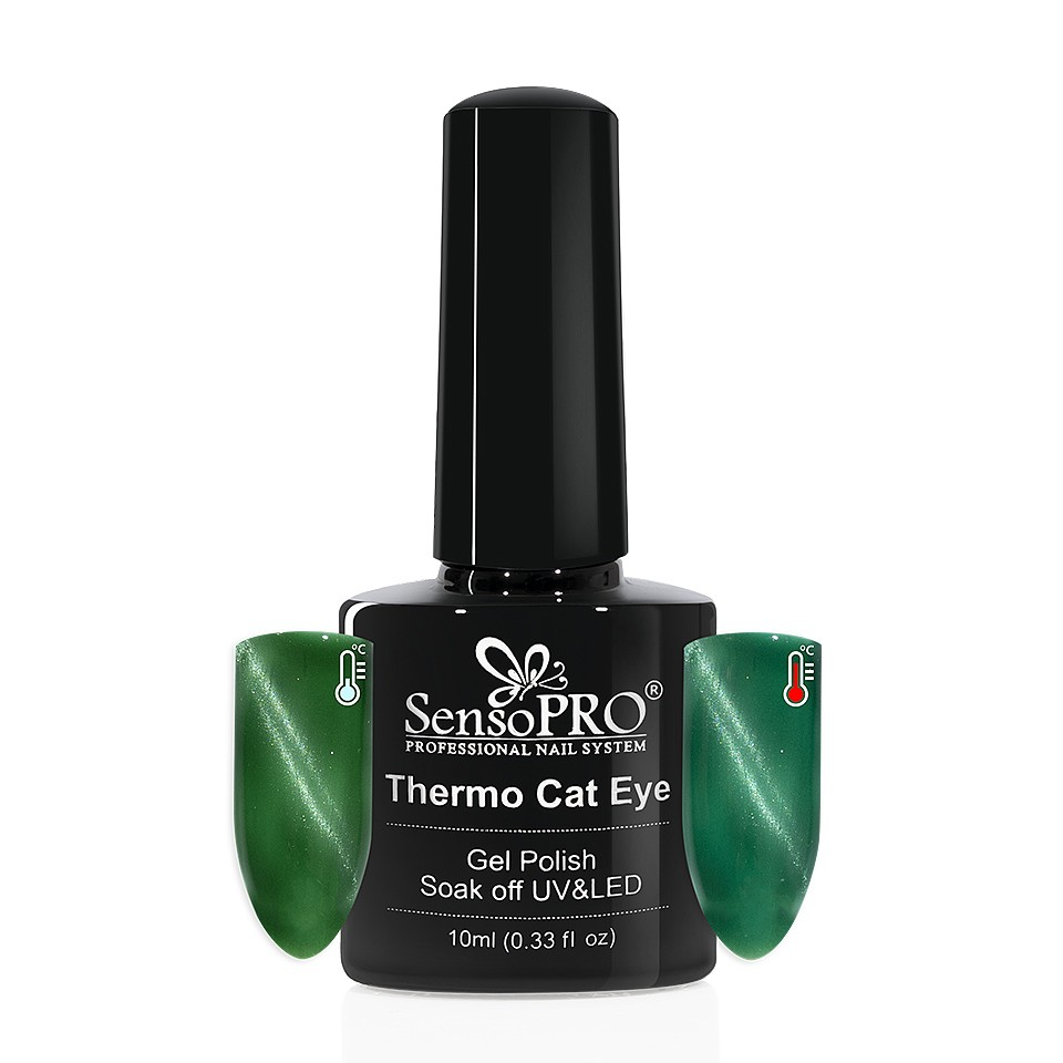 Oja Semipermanenta Thermo Cat Eye SensoPRO 10 ml, #15 imagine 2021 kitunghii