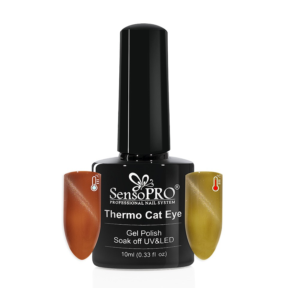 Oja Semipermanenta Thermo Cat Eye SensoPRO 10 ml, #16 imagine 2021 kitunghii