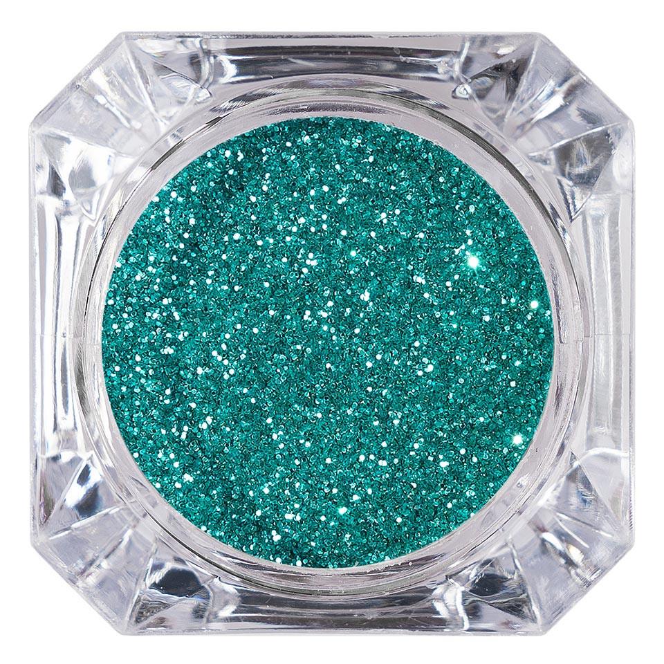Sclipici Glitter Unghii Pulbere LUXORISE, Turquoise Green #11 imagine 2021 kitunghii