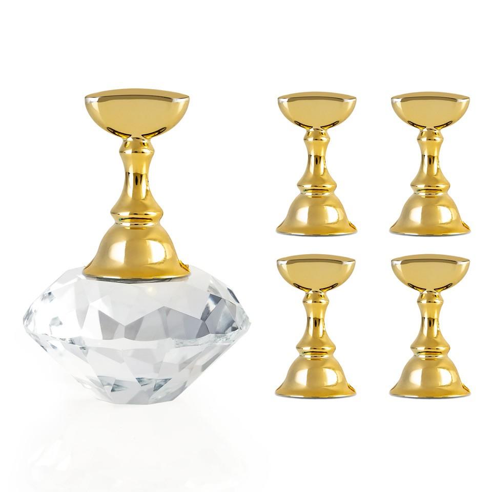 Suport Magnetic Tipsuri pentru Exercitiu si Expunere Crystal Clear kitunghii.ro