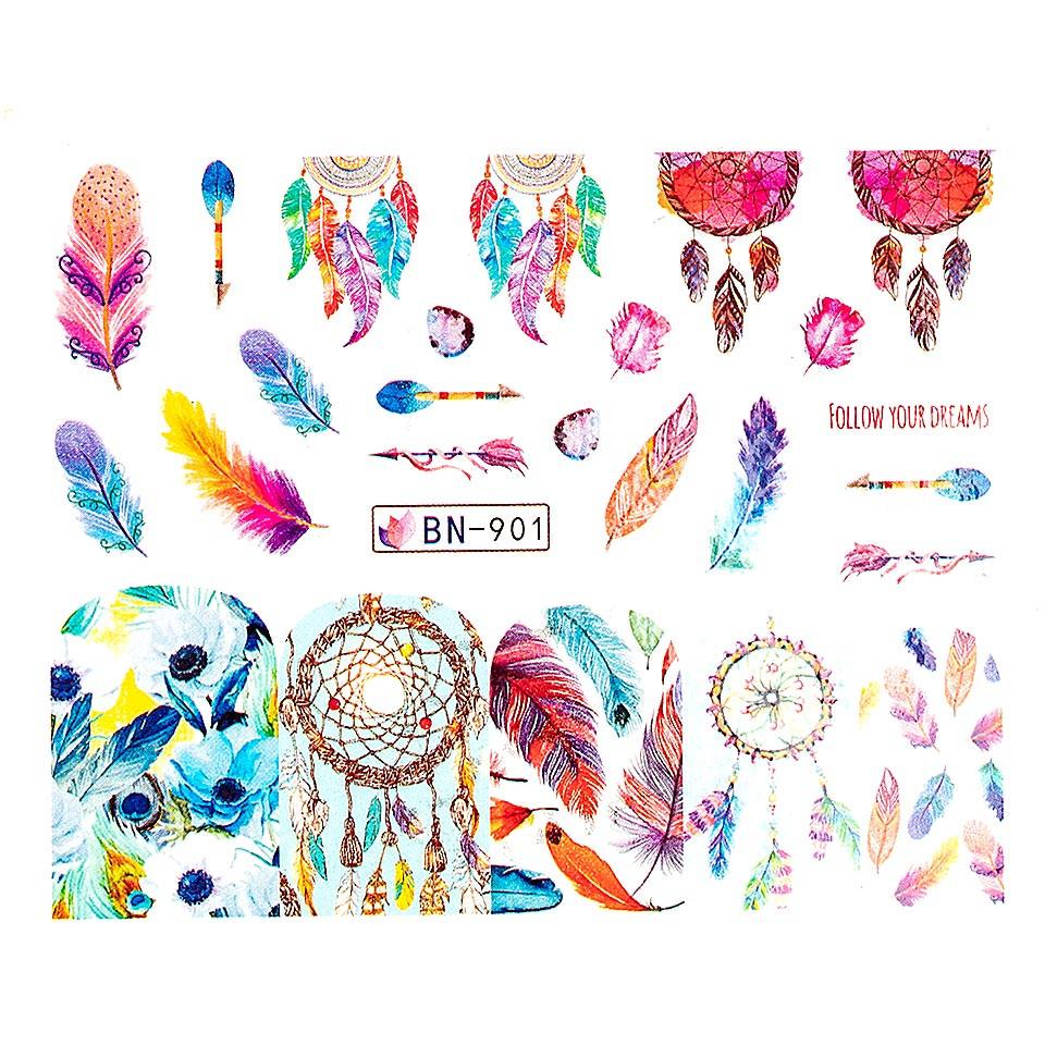 Tatuaj unghii LUXORISE, Dream Catcher BN-901 imagine 2021 kitunghii