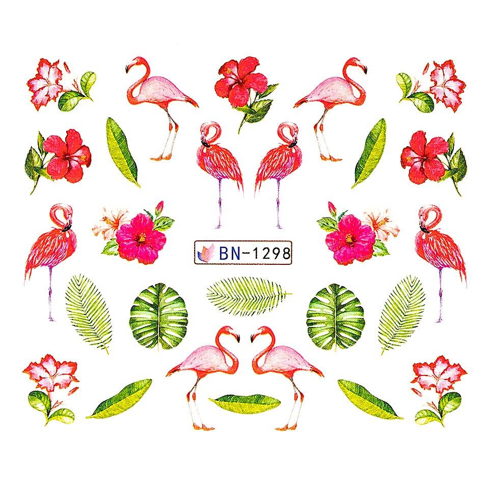 Tatuaj unghii LUXORISE, Flamingo BN-1298 kitunghii.ro