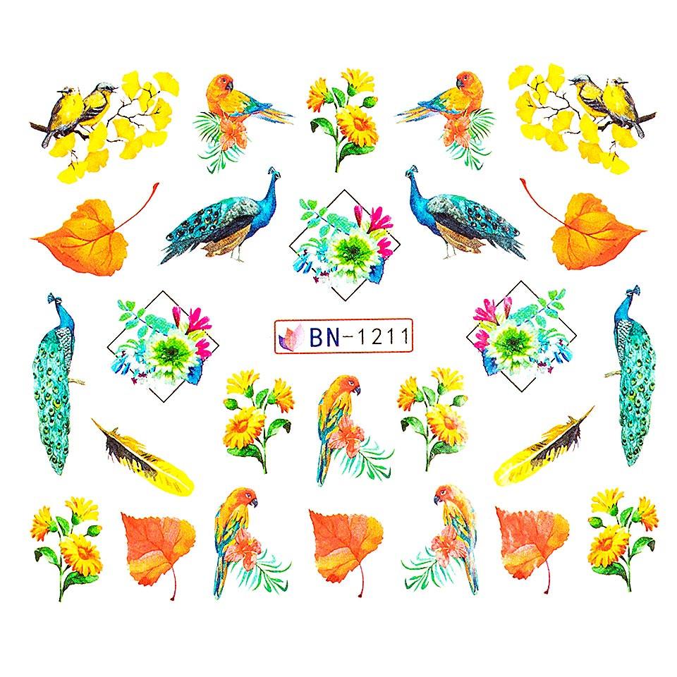 Tatuaj unghii LUXORISE, Peacock BN-1211 imagine produs