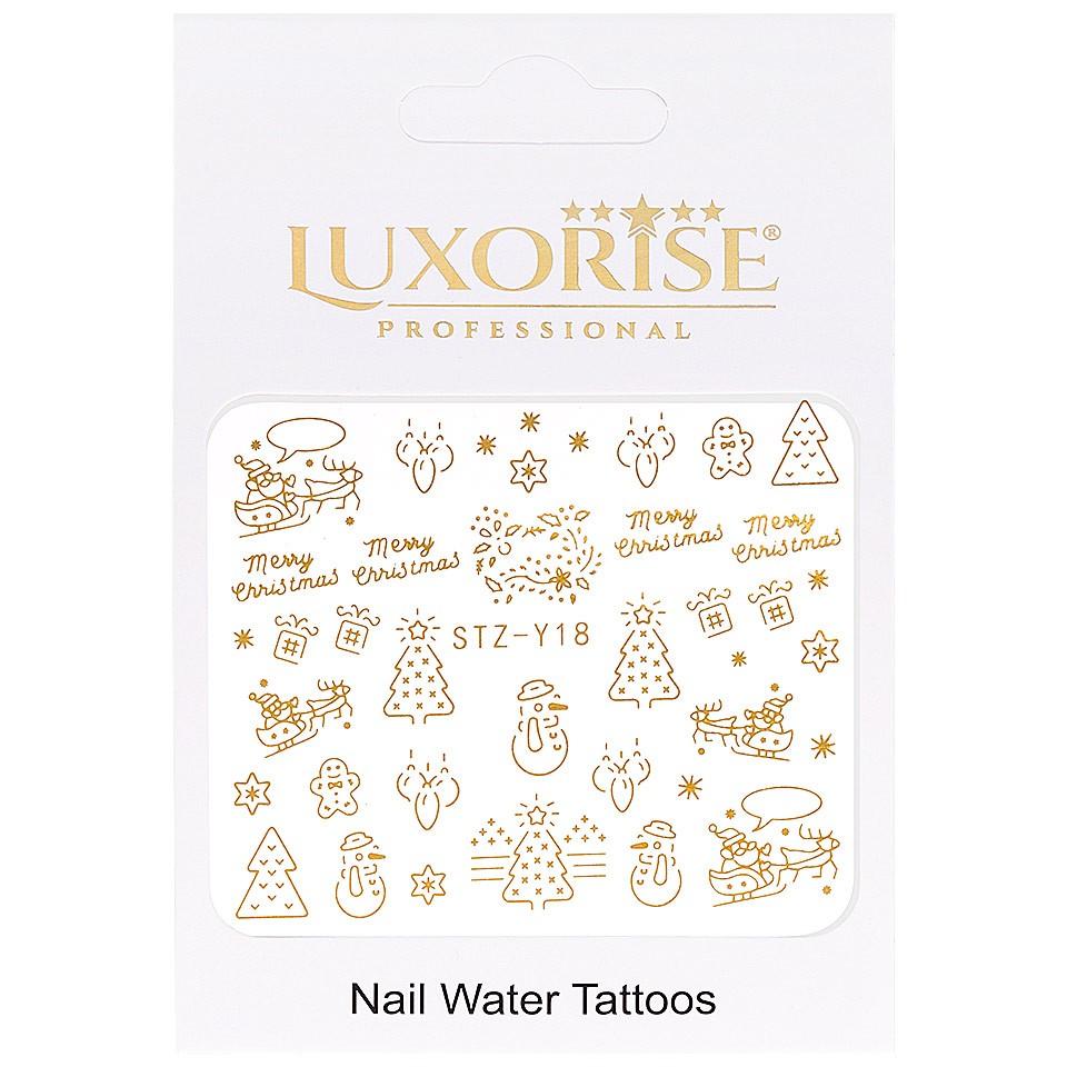 Tatuaj unghii LUXORISE, Winter STZ-Y18 imagine produs