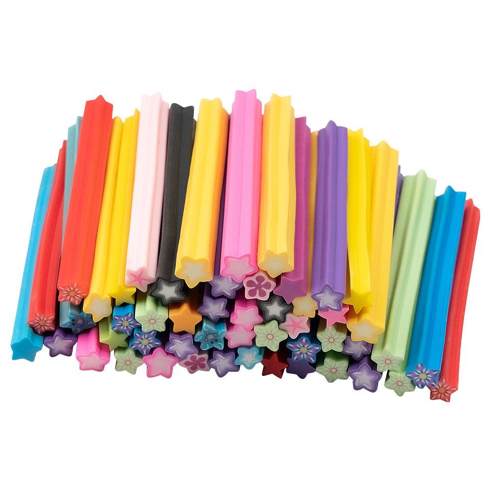 Betisoare Fimo Colours of Stars - Set 50 Bucati kitunghii.ro