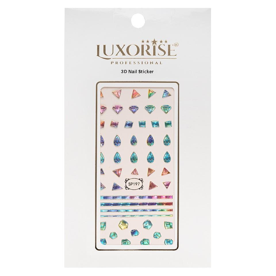 Folie Sticker 3D unghii LUXORISE- SP197 kitunghii.ro