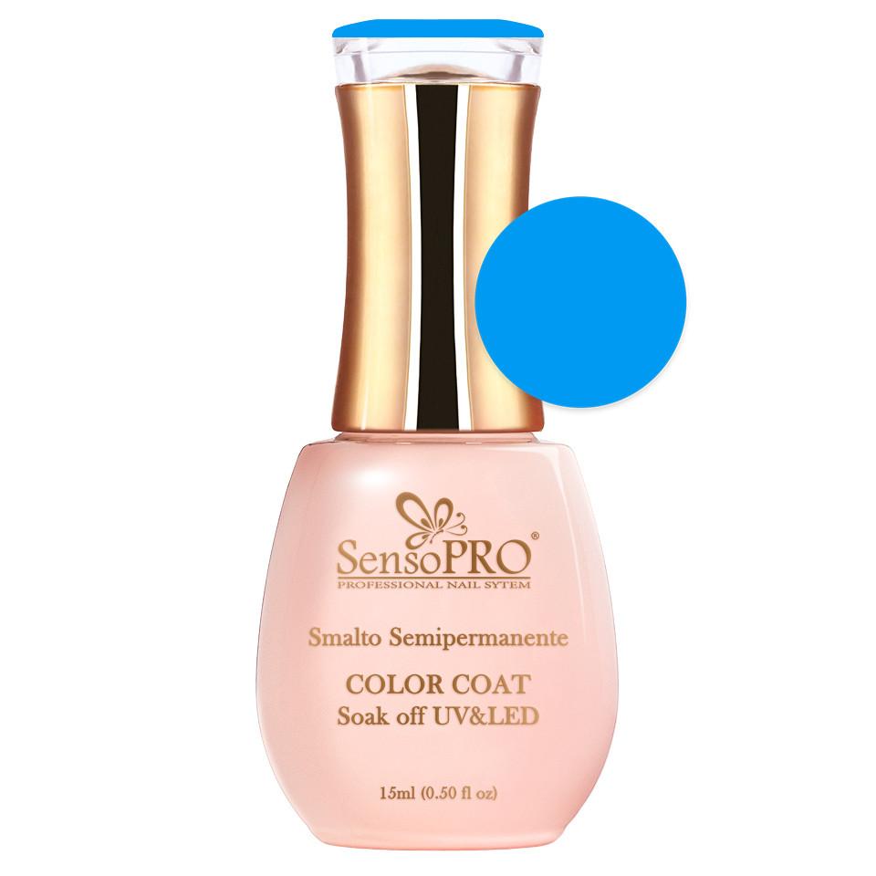 Oja Semipermanenta SensoPRO 15ml culoare Albastru - 020-1 Blue Sky imagine 2021 kitunghii