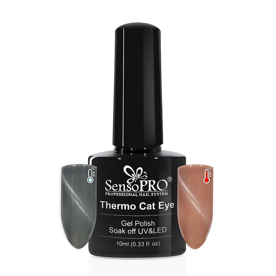 Oja Semipermanenta Thermo Cat Eye SensoPRO 10 ml, #09 imagine 2021 kitunghii