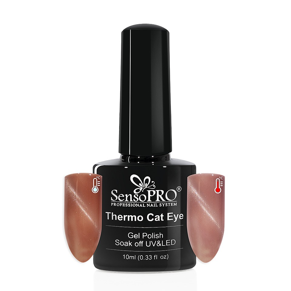 Oja Semipermanenta Thermo Cat Eye SensoPRO 10 ml, #13 imagine 2021 kitunghii