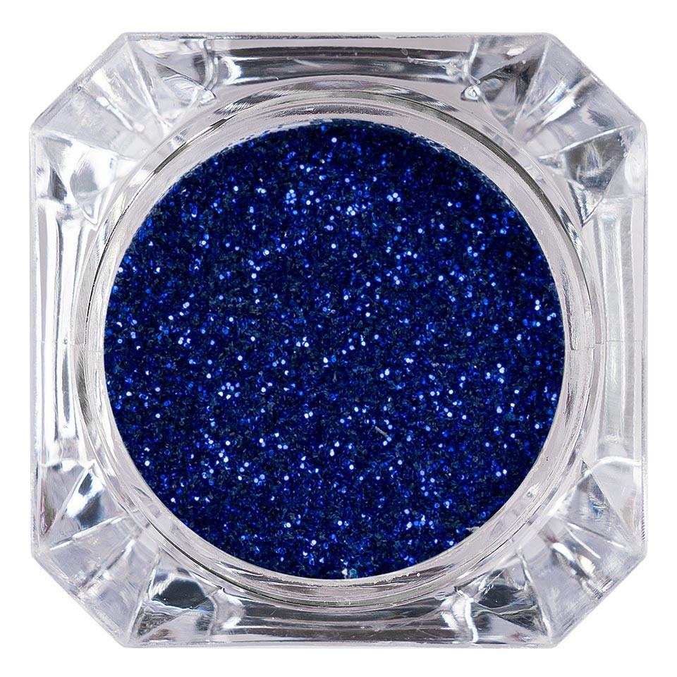 Sclipici Glitter Unghii Pulbere LUXORISE, Admiral Blue #43 imagine 2021 kitunghii