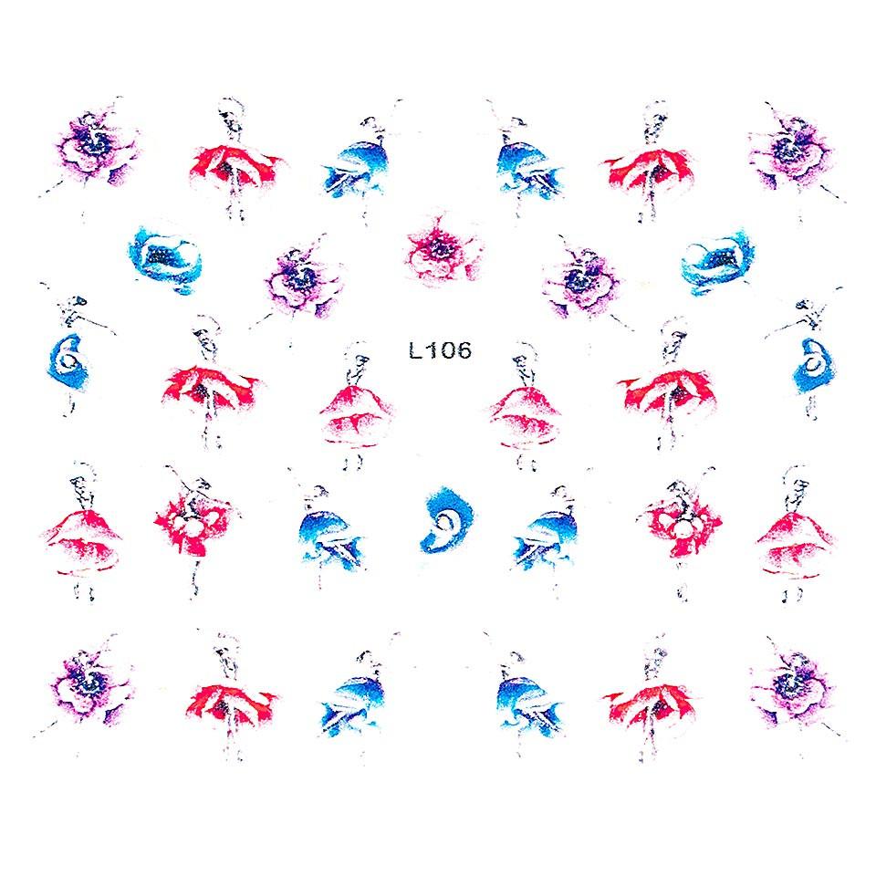 Sticker 3D Unghii LUXORISE Artistry L106 kitunghii.ro