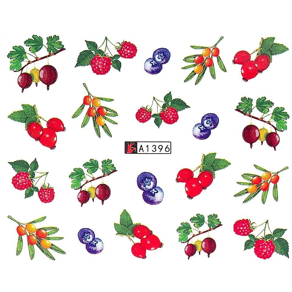 Tatuaj unghii LUXORISE, Fruits A1396 poza noua