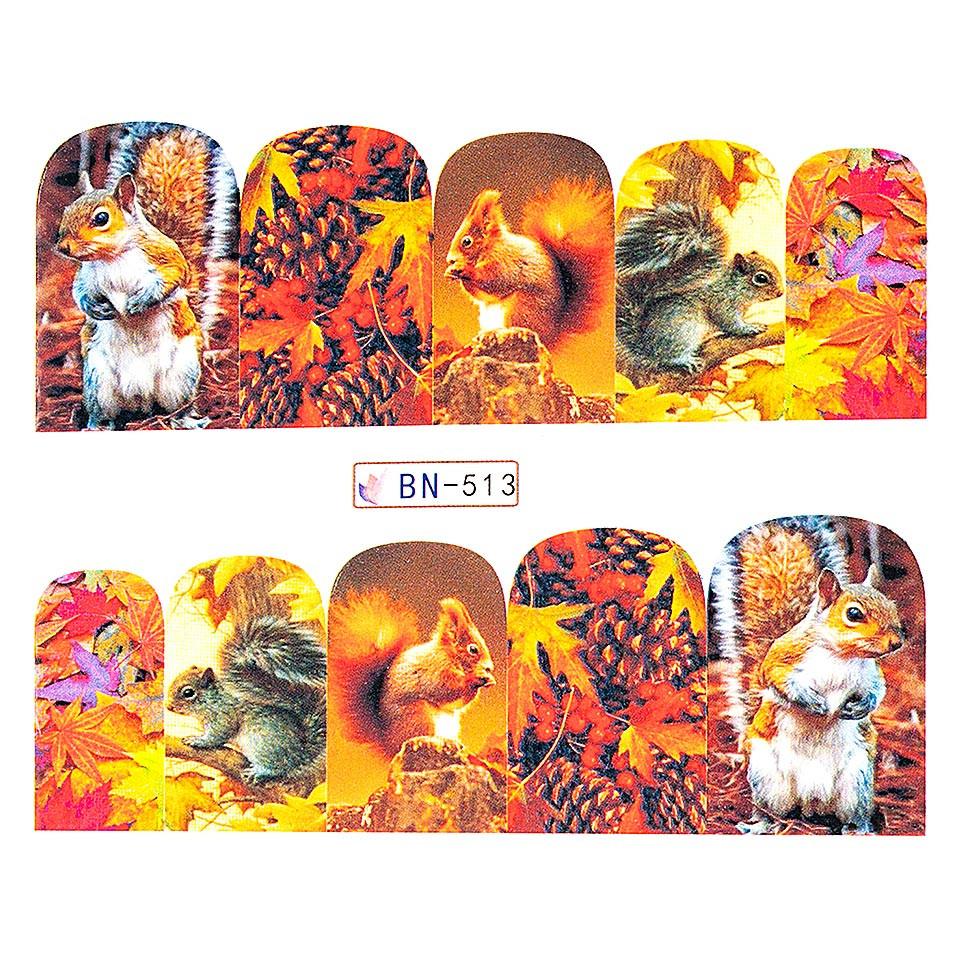 Tatuaj unghii LUXORISE, GoldenFall BN-513 kitunghii.ro
