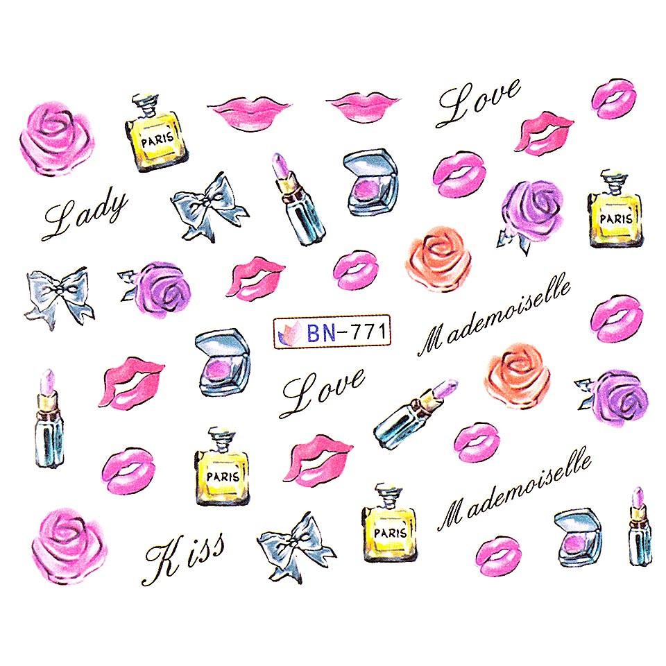 Tatuaj unghii LUXORISE, Love BN-771 kitunghii.ro