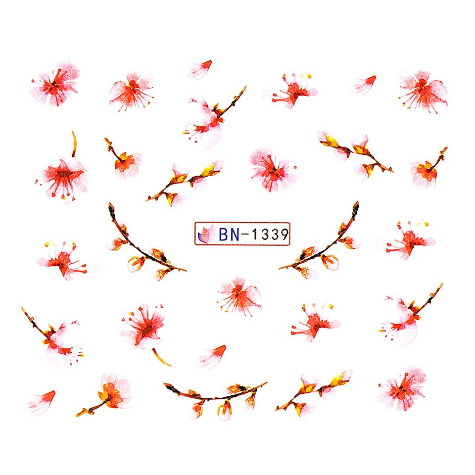 Tatuaj unghii LUXORISE, Nature BN-1339 imagine 2021 kitunghii