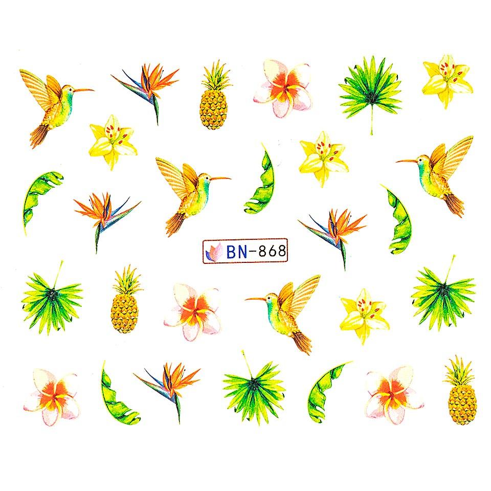 Tatuaj unghii LUXORISE, Tropical BN-868 imagine produs