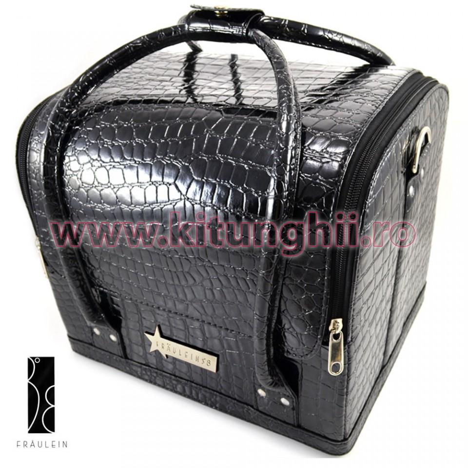 geanta produse cosmetice fraulein38, black