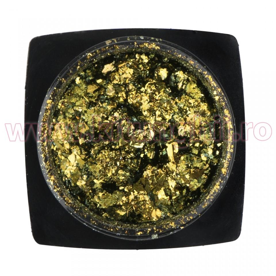 Decoratiune Unghii Folie Cameleon Emerald