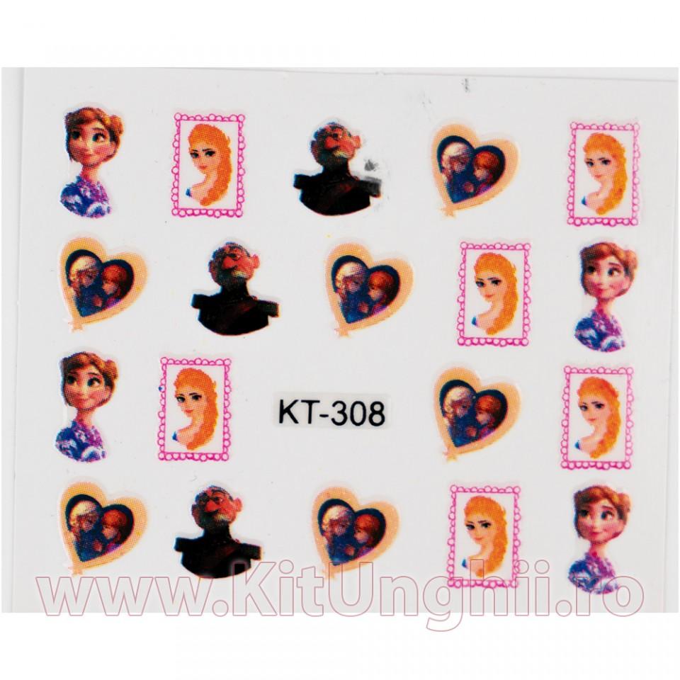 Folie Stickere unghii, model KT-308