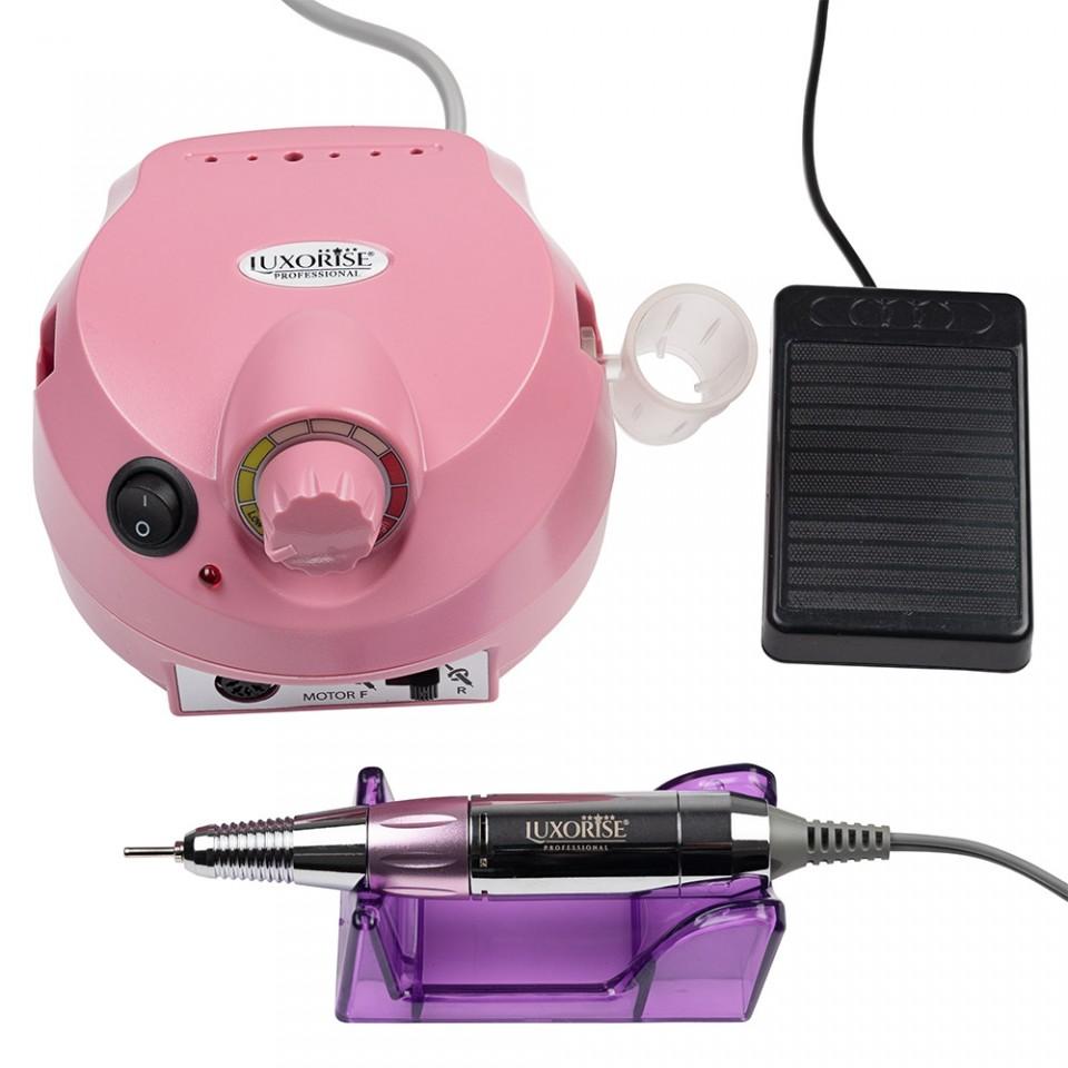 Pila electrica profesionala PowerPRO Elite LUXORISE Germania, 30.000 RPM - Pink