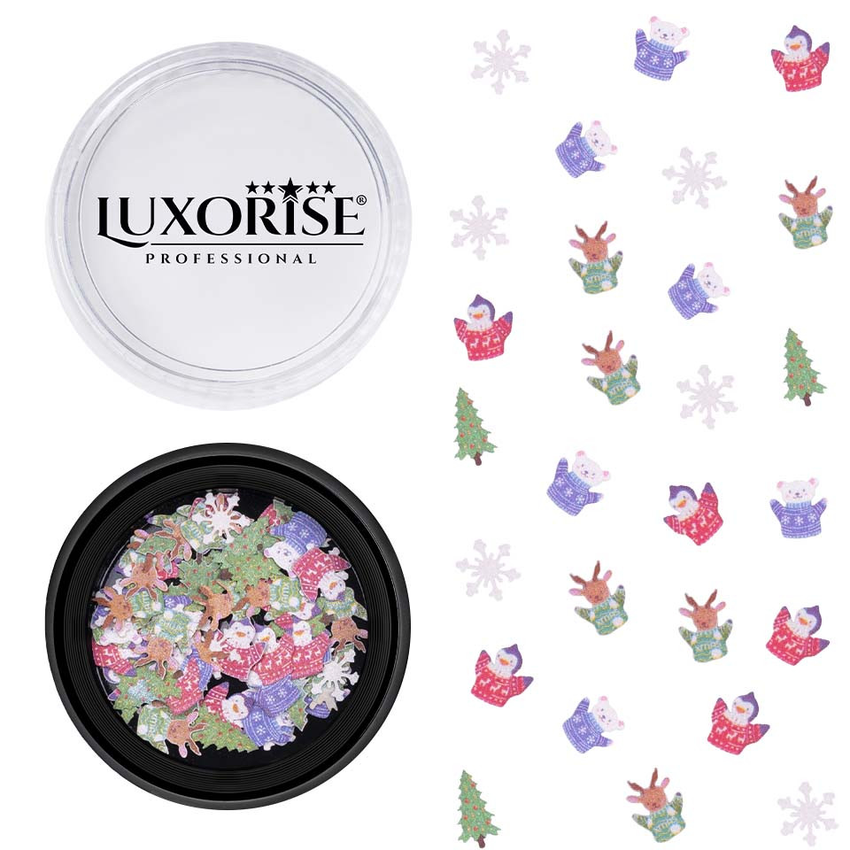Decoratiune Unghii Christmas Delights #05, LUXORISE imagine 2021 kitunghii