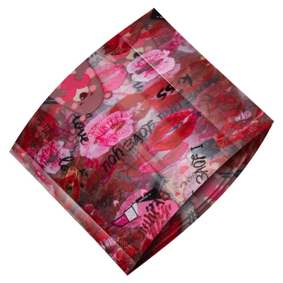 Folie de Transfer Unghii LUXORISE #461 Sweet Kisses