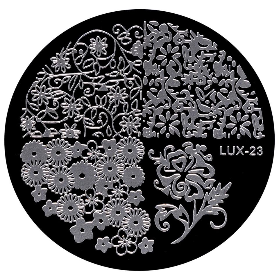 Matrita Metalica Stampila Unghii LUX-23 - Nature imagine 2021 kitunghii