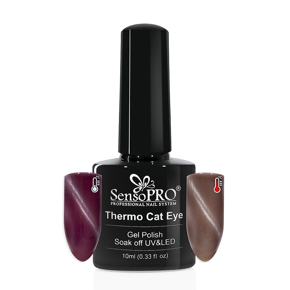 Oja Semipermanenta Thermo Cat Eye SensoPRO 10 ml, #31 imagine 2021 kitunghii