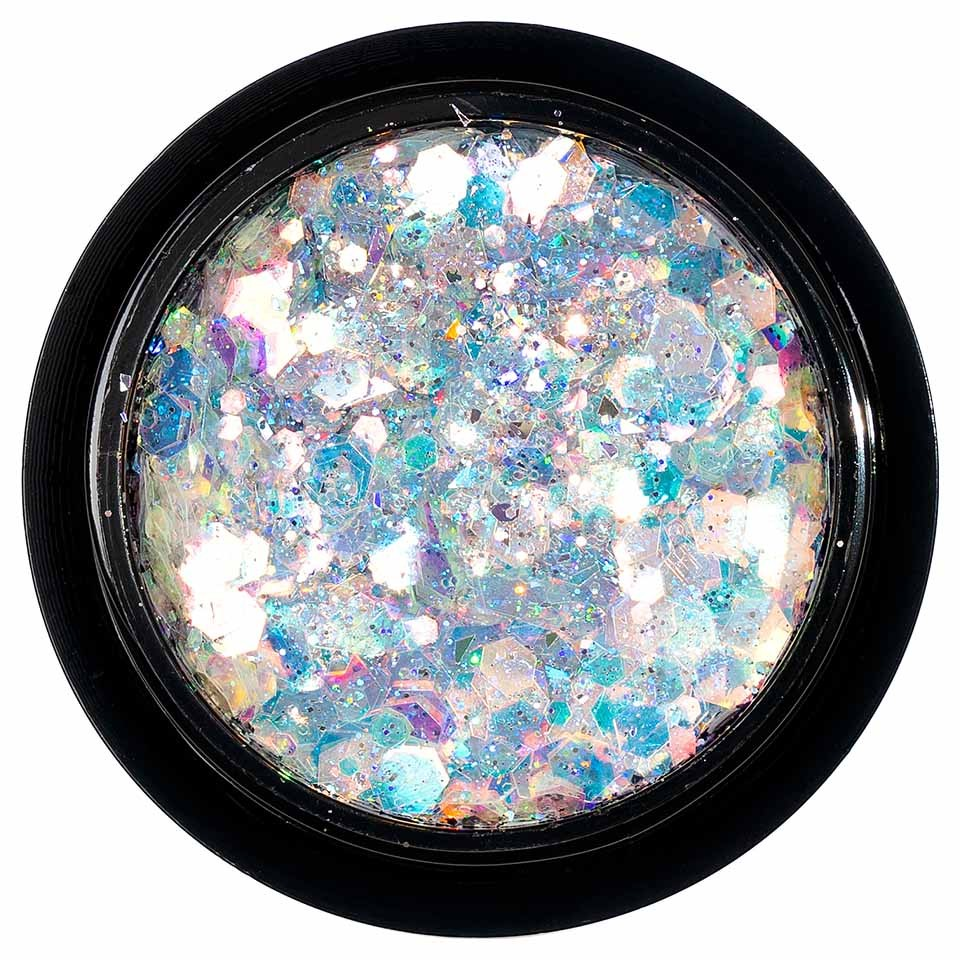 Paiete Holografice Unghii LUXORISE Disco Lights YJ01 poza