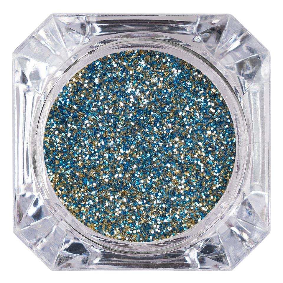 Sclipici Glitter Unghii Pulbere LUXORISE, Blue Glow #53 imagine 2021 kitunghii