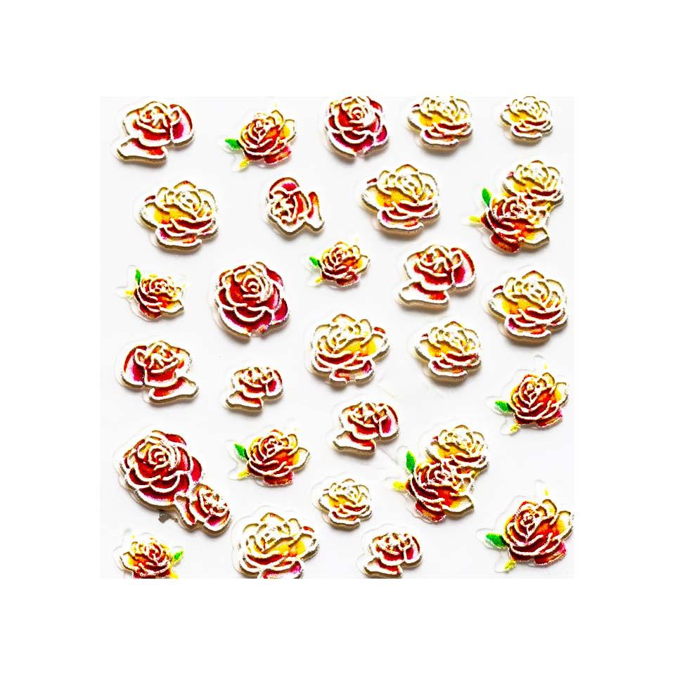 Sticker 3D Unghii LUXORISE Artistry LX022 imagine 2021 kitunghii