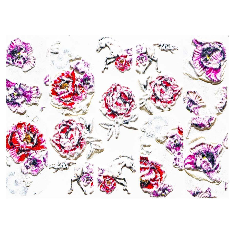 Tatuaj 3D Unghii LUXORISE Artistry LX063 kitunghii.ro