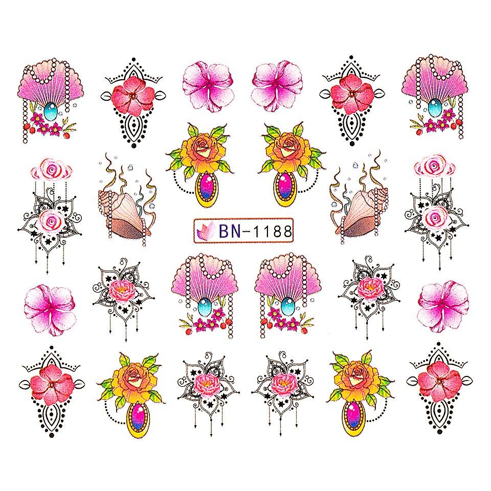 Tatuaj unghii LUXORISE, Fantasy BN-1188 kitunghii.ro