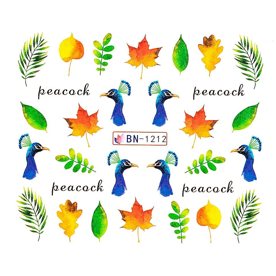 Tatuaj unghii LUXORISE, Peacock BN-1212 imagine produs