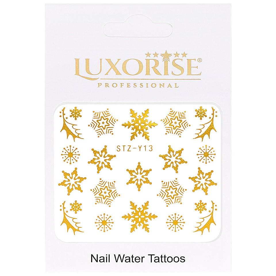 Tatuaj unghii LUXORISE, Winter STZ-Y13 imagine produs